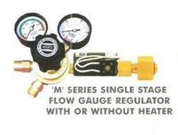 'M' Series Single Stage Flow Gauge Regulator With Or Without Heater