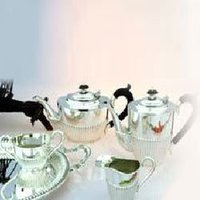 Silver Queen Anne Tea Set
