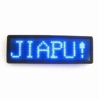 LED Name Badge (JP 1248 )