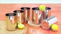 Stainless Steel Amrapali Glass Set