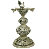 Decorative Silver Candle Holders
