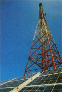 Solar Integrated Telecom Base Station