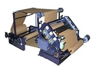 Oblique Type Single Face Paper Corrugation Machine