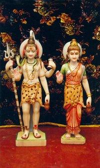 Shiva Parvati Statues