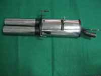 Exhaust System For VW Golf