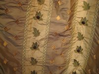 Embroidered Silk Taffeta