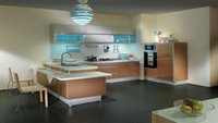 Metal Foil MDF Kitchen Cabinet
