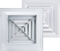 Aluminum Square Ceiling Air Diffuser