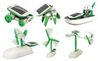 6 In 1 Educational Solar Toy Kit Robot