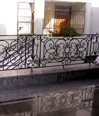 Steel Balcony Railings