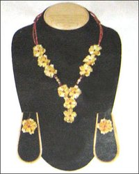 Gold Foil Necklace Set
