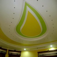 Gypsum Fall Ceiling