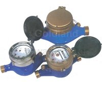 Multi-Jet Liquid Sealed Vane Wheel Water Meter