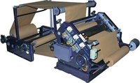 Oblique Type Bush Mounted Single Face Paper Corrugating Machine