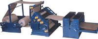 Oblique Type Bearing Mounted Single Face Corrugating Machine With Rotary Shear