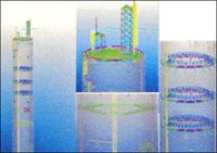 Chimney Platforms Structural Designs