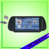 7-inch 16:9 LCD Monitor With USD Port and SD Card Slot