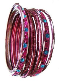 Ladies Aluminium Lac Bangles