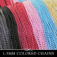 Colored Bead Chain
