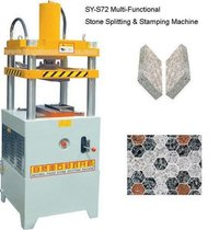 Multi-functional Stone Splitting And Stamping Machine