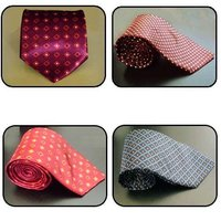 Satin Polyester Printed Ties