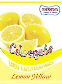 Lemon Yellow Color Mate