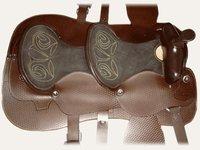 Embossed Western Saddles