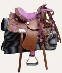 Horses Western Saddles
