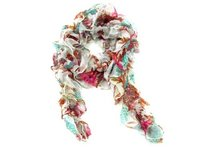 Polyester Short Scarf With Elastic