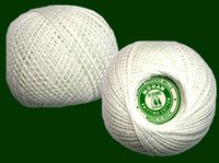 Knitting Cotton White Yarn