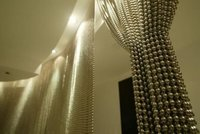 Ball Chain Shimmer Screen Curtain