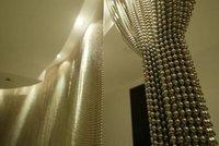 Ball Chain Shimmer Screen Curtain