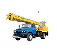 Mobile Truck Crane (QY8D)