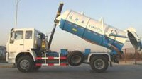 4×2 Sewage Suction Truck