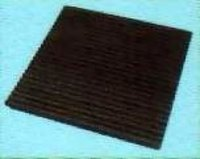 ANTI VIBRATION RIBBED MOUNTING RUBBER PAD