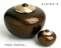 Simplicity Bronze Round Cremation Urn