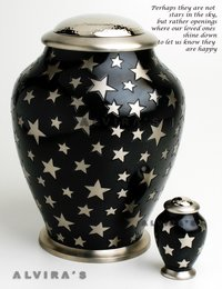 Simplicity Heaven Tall Cremation Urn
