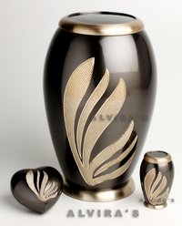Blooming Leaves Cremation Urn