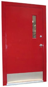 Red Steel Doors