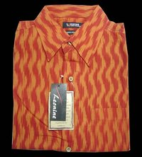 Mens Cotton Ikat Shirts