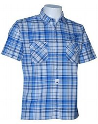 Yarn Dyed Checks Light Blue Shirts