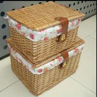 Rattan Wicker Basket Craft