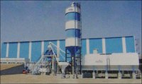 Concrete Batching Plant With Horizontal Silos