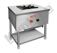 Single Burner Gas Cooking Range With Bottom Shelf