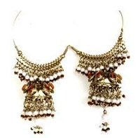 Elegant Beaded Earrings