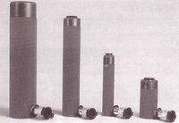 Single Acting Solid Plunger Hydraulic Cylinders - Spring Return
