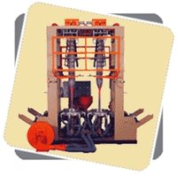Twin Film Blowing Extruder Machine