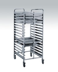 Stainless Steel Trays Trolley