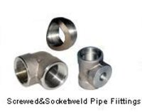 Screwed & Socket Weld Pipe Fittings