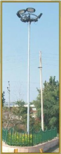 Hot Dip Galvanized High Mast Poles